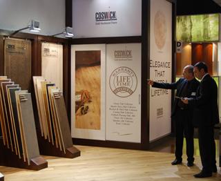 Косвик на выставке Domotex 2011